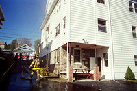 Stamford FD Dwelling Fire at 19 Hinckley Ave. Unknown Date.