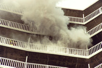 Stamford FD Apartment Fire on 1425 Bedford St. Unknown Date.
