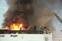 Stamford FD Commercial Building Fire at 818 East Main St. Unknown Date.