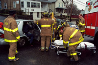 Stamford FD MVA at W Broad St & Stephen St, Unknown Date.