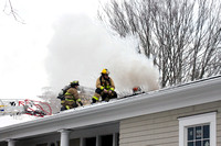 SFD, TOR, BFD with an attic fire at 31 Thornridge Rd Mar. 30, 2015