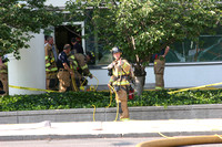 SFRD fire at the Stamford Goverment Center 888 Washington Blvd, Stamford, Ct