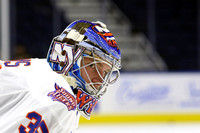 Bridgeport Sound Tigers Players .vs. Providence Oct. 17, 2015