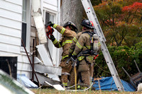 SFD with fire in the walls at 236 Strawberry Hill Ave. Oct. 24, 2015