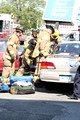SFRD Rescue 1 and Engine 2 on scene at a 2 car MVA with injuries on West Main St. May 16, 2013