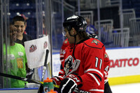 Portland Pirates players @ Bridgeport. March 30, 2016