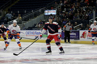 Hartford Wolf Pack players only @ Bridgeport Sound Tigers Nov. 29. 2013