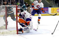 Bridgeport Sound Tigers players only .vs. Worcester Sharks Mar. 1, 2014