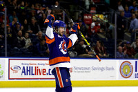 Sound Tigers .vs. Hartford. Jan 27, 2017.