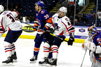 Sound Tigers .vs. Springfield. Apr 4, 2017.