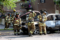 SFRD and Glenbrook on scene with a car fire at 110 Maple Tree Ave. July. 29, 2014