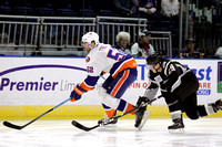 Manchester Monarchs players only @ Bridgeport Sound Tigers Oct. 12, 2013